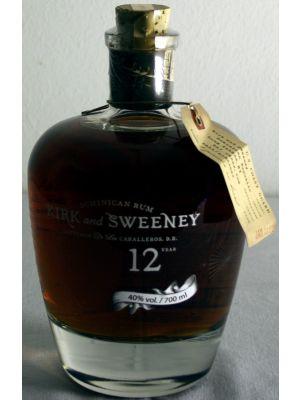 Kirk & Sweeney Dominican Rum 12 years